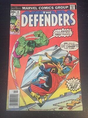 Defenders#31 Awesome Condition 6.5(1976) Buscema Art!!