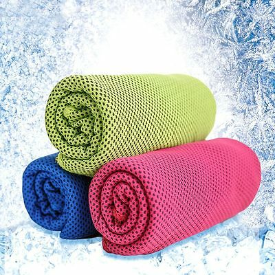 Instant Jogging Ice Cold Enduring Chilly Pad Cooling Towel Summer Sweat