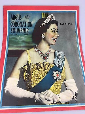 Vintage - Coronation Souvenir 1955 - The Argus Newspaper - Part Two