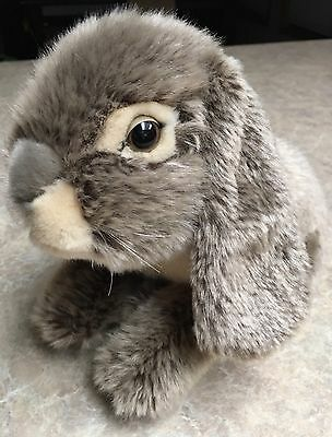 Adorable Gray/Grey Bunny Rabbit Plush Very Realistic!