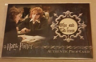 harry potter gofu ci3 Daily Prophet 379/455  prop card artbox