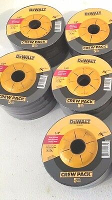 "DEWALT 50-Pieces 4-1/2"" x 1/4"" x 7/8"" METAL GRINDING WHEELS - DW4541"
