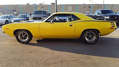 1972 Plymouth Barracuda  Plymouth barracuda 440