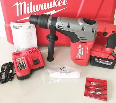Milwaukee 2717-21HD M18 FUEL Brushless Cordless 1-9/16 SDS-Max Rotary Hammer Kit