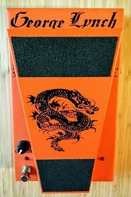 Autographed Limited Edition Morley George Lynch Dragon Wah Guitar Pedal