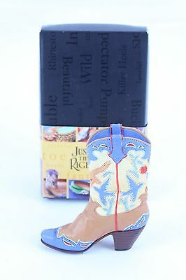 """Nice Raine Just The Right Shoe """"home On The Range"""" W/ Box & Paperwork Lot #35"""