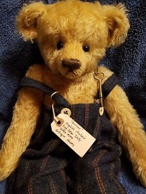 Patricia Tieri Mohair Bear Junior Protype  23 Inches Antique Shoes