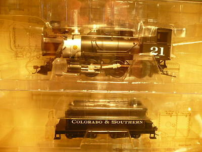 SPECTRUM On30 2-6-0 BLACK/SILVER COLORADO & SOUTHERN STEAM ENGINE #25241