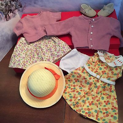 American Girl Doll Kit Meet Outfit & Floral Dress Clothes Lot
