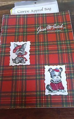 Vintage jean mcintosh needlework petit point catalogue of kits great reference