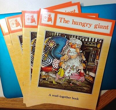 The Hungry Giant by Joy Cowley-Story Box Read-together books Paperback/Lot of 4