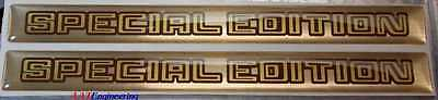 76 77 78 79 80 81 Trans Am Gold SPECIAL EDITION 3D Door handle Inserts NICE ~NEW