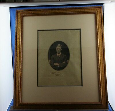 Signed Edward VIII at Oxford Prince of Wales Dated 1914 1 of a Kind Photo RARE