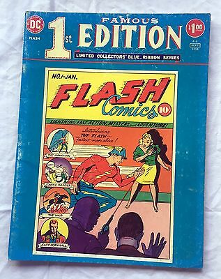 FLASH #1 DC FAMOUS FIRST TREASURY COLLECTOR'S EDITION ~ F-8 - 1975 DC Comics