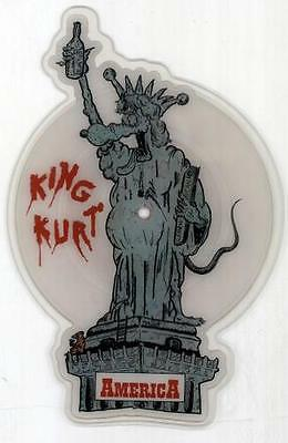 King Kurt America UK shaped picture disc vinyl record KURTP1 POLYDOR 1986
