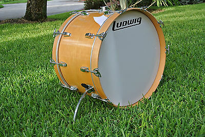 "70's/80's Ludwig USA CLASSIC 22"" THERMOGLOSS BASS DRUM for YOUR DRUM SET! #A205"