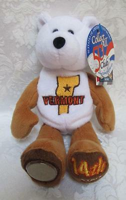 Limited Treasures State Quarters Coin Teddy Bear Vermont #14