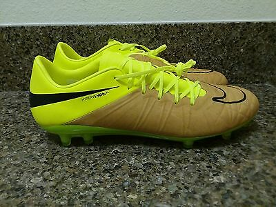 Nike Hypervenom Phinish II Leather FG Soccer Cleats 759980-707 Sz 6.5, 9, 10.5
