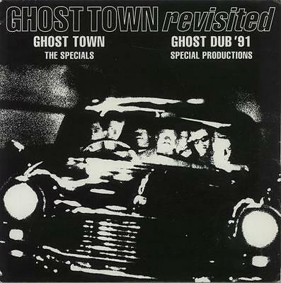 "Ghost Town Revisited Specials 7"" vinyl single record UK CHSTT30 2 TONE 1991"