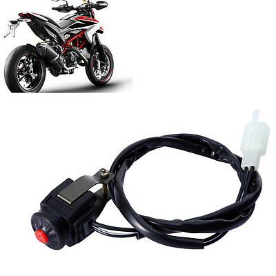 """New 7/8"""" Kill Stop Handlebar Control Switch Horn Button For Motorcycle Quad ATV"""