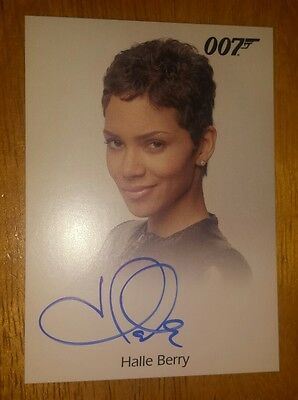 HALLE BERRY AUTO 2017 James Bond Archives AS JINX AUTOGRAPH SSP DIE ANOTHER DAY
