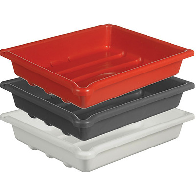 Paterson 40x50cm (16x20inch) set of three developing trays (red,white& gray)
