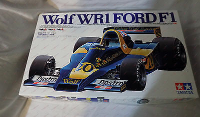TAMIYA 1/12 Wolf WR-1 FORD F1 BIG SCALE Model Kit 12024