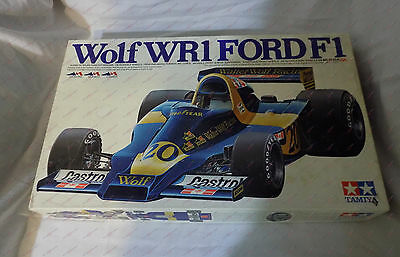 TAMIYA 1/12 Wolf WR-1 FORD F1 BIG SCALE Model Kit 1224 Faded Box Top