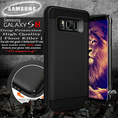 Heavy Duty Rugged Shockproof Case Samsung Galaxy s8 & s8+  With Screen Protector