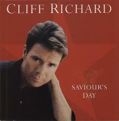"Saviour's Day Cliff Richard UK 12"" vinyl single record (Maxi) 12XMAS90 EMI"