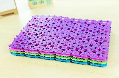 2pcs Non Slip Hydro Rug Aqua Carpet Mat Shower Bath Water Area Bathroom Purple