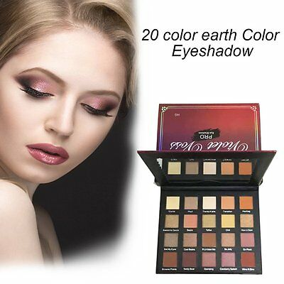 20 Colors Natrual Eyeshadow Palette Eye Shadow Matte Shimmer Makeup Cosmetics