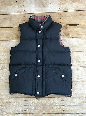 Crewcuts Unisex Youth Navy Down Filled Puffer Vest Size Large