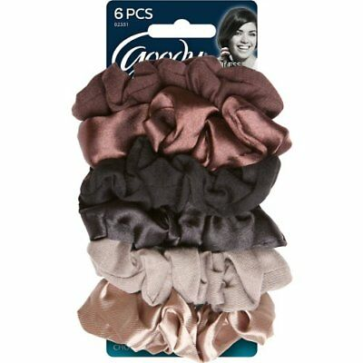 Goody Styling Essentials Ouchless Scrunchies, Starry Night, Assorted 6 Count