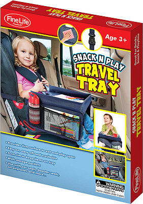 2 x Baby Car Seat Lap Tray Snack N Play Portable Table Kid Travel Chair OZ Stock
