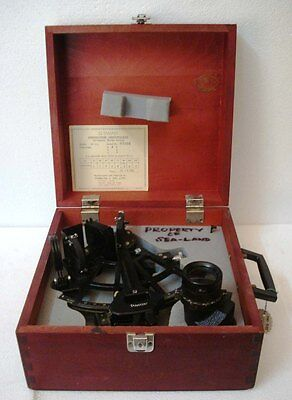TAMAYA  Marine Sextant - No. T8357 - Made in JAPAN - 7 x 35 TELESCOPE