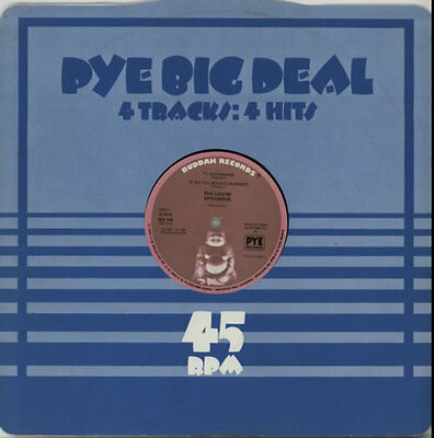 "Lovin' Spoonful Pye Big Deal EP 12"" vinyl single record (Maxi) UK BD118 BUDDAH"