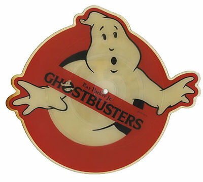 Ray Parker Jr Ghostbusters UK shaped picture disc vinyl record ARISD580 ARISTA
