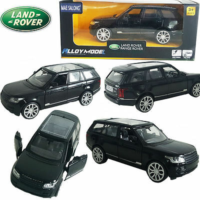 1:39 Land Range Rover SUV DieCast Model Pull Back Collection Car Decor Gift Toy