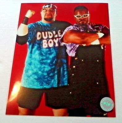WWE dudley boyz PHOTO 8X10