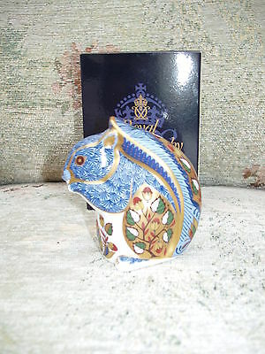 Royal Crown Derby DEBENHAMS SQUIRREL 1st quality LIMITED EDITION GOLD backstamp