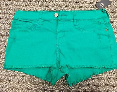 NWT Women's Abercrombie & Fitch size 2, w26 High Rise Shorts