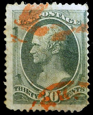 USA 1870 - 30c Used with Faults AD202