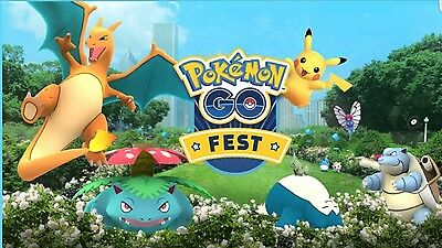 POKEMON GO FEST: CHICAGO Grant Park! SOLD OUT! One wristband/ticket