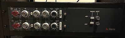 Neve 1084 Preamps With Genuine 3RU 1073/1084 Power Supply
