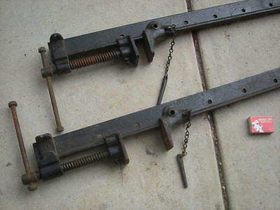 2 x Vintage, VERY LONG Sash CLAMPS - Furniture, Restoration....