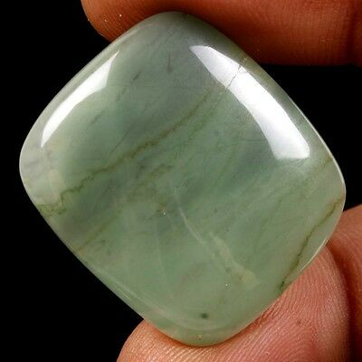38.80 Ct. Genuine Quality Natural African Green Jade Octagon Cabochon Gemstones