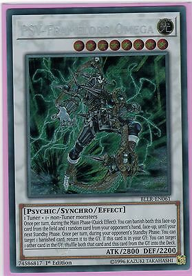 PSY-Framelord Omega - Secret Rare - BLLR - Battles of Legend: - Yugioh