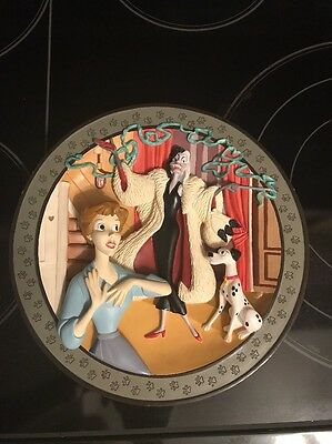 Disney 101 Dalmations  3-D Collector Plate Anita Daahhling #21/15000