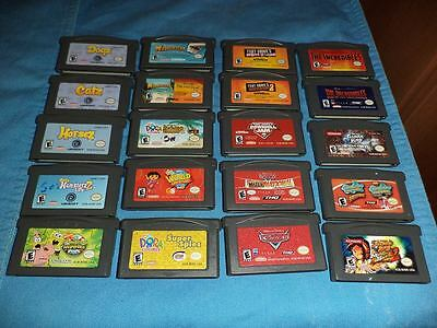 Lot of 84 Game Boy Advance Games - GBA - Nintendo
